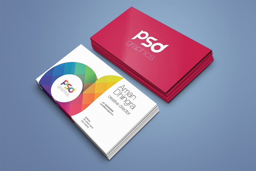 Nice Business Card Mockup Template Free Psd Download Business Card Mockup Template F Business Cards Mockup Psd Business Card Mock Up Free Business Card Mockup