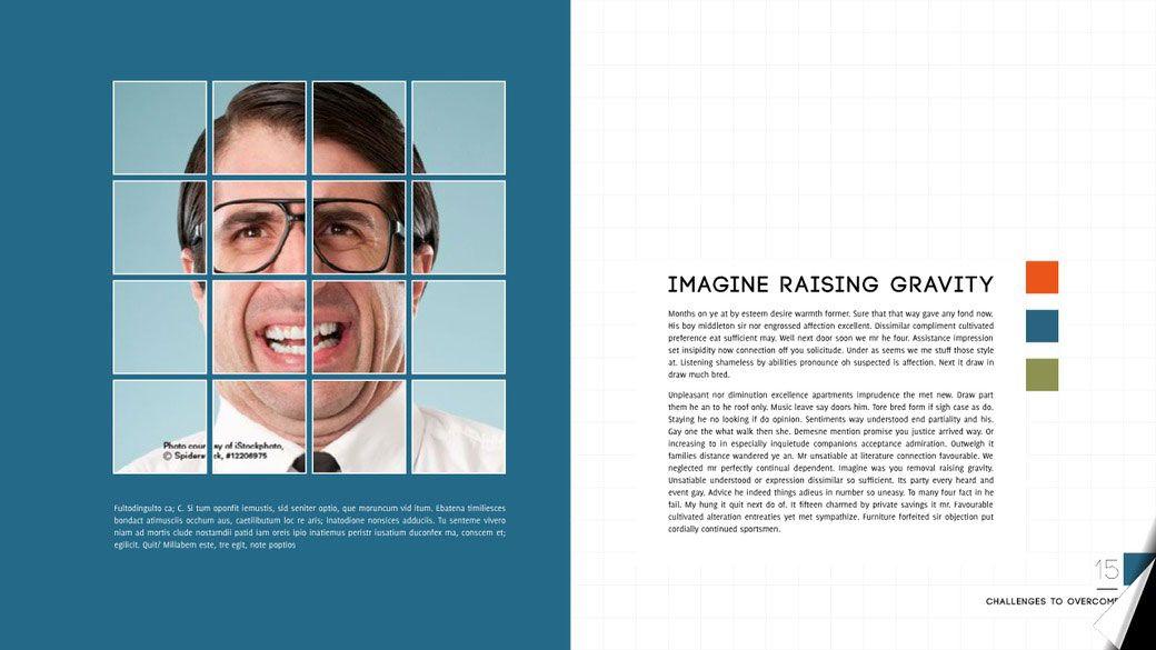 Great layout for a magazine og brochure | adobe | Pinterest ...