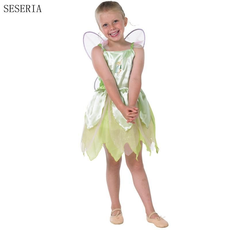 SESERIA Halloween Costumes for Girl The Wizard of Oz Green Forest - green dress halloween costume ideas