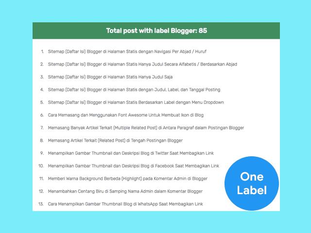 Cara Membuat Popular Post Keren Berwarna Di Blogspot Blog Huruf Blogger