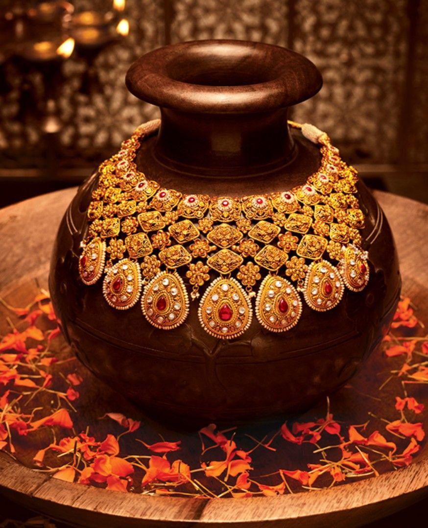 Tanishq n padmavati goldjewellerytanishq jewelry pinterest