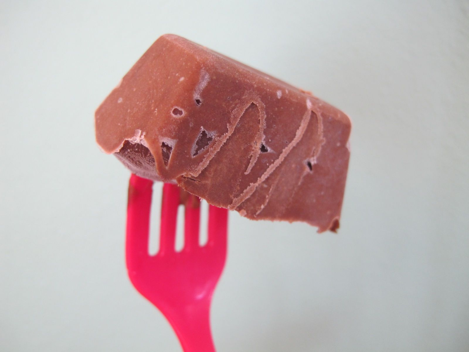 No popsicle forms, no problem... all you need is an ice tray and some toothpicks or plastic forks
