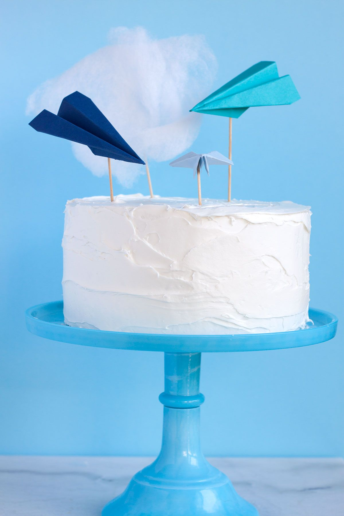 Paper Airplane Cake Toppers Paint The Gown Red Airplane Cake