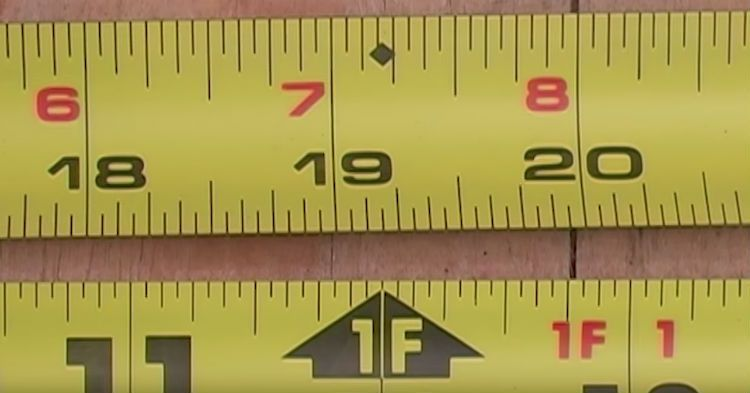 If You Don T Know What Tiny Diamond On A Tape Measure Is For