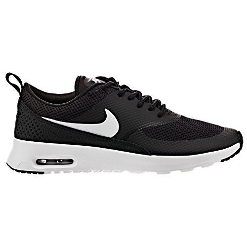 Nike Air Max Thea, Baskets Basses Femme, Noir-Schwarz (007 Black/Wolf Grey-Anthrct-White), 42 EU