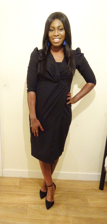 The little black wrap dress mich joseph pinterest