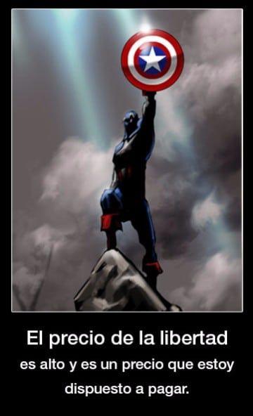 Frases Del Capitan America Comic Steve Rogers Capitán