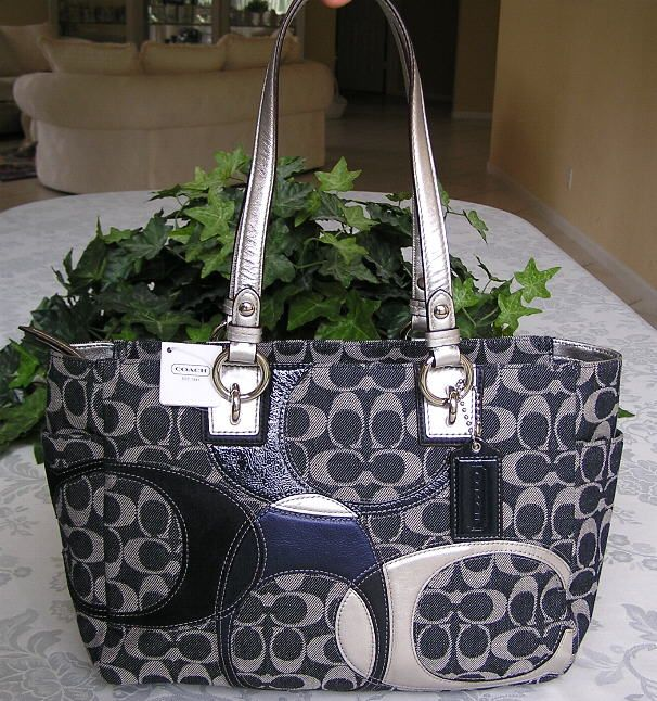 066e8a26ee4a Bag · Look at this great Coach Signature Inlaid Patchwork Gallery handbag.