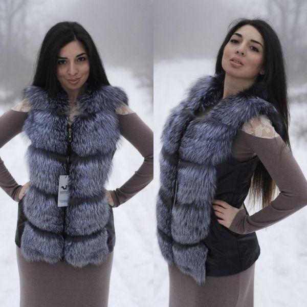 Женские меховые жилетки 2019-2020 года: на фото модели из ...