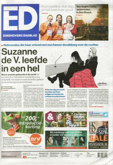 Courtroom illustration for #EindhovensDagblad [15-12-2017]