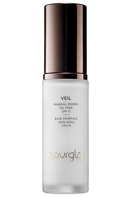"""18 Fall Must-Haves, Courtesy Of L.A.'s Top Celebrity Makeup Artists #refinery29  http://www.refinery29.com/celebrity-makeup-artists-product-tips#slide19  Must-Have Fall Product:  Hourglass Veil Mineral Primer Broad Spectrum SPF 15 """"It's a staple. It keeps your foundation from fading, helps to smooth the surface of your skin, and gives a beautiful glow all day...plus, it has an SPF 15. It's important to wear SPF all year, not just in the summer."""""""