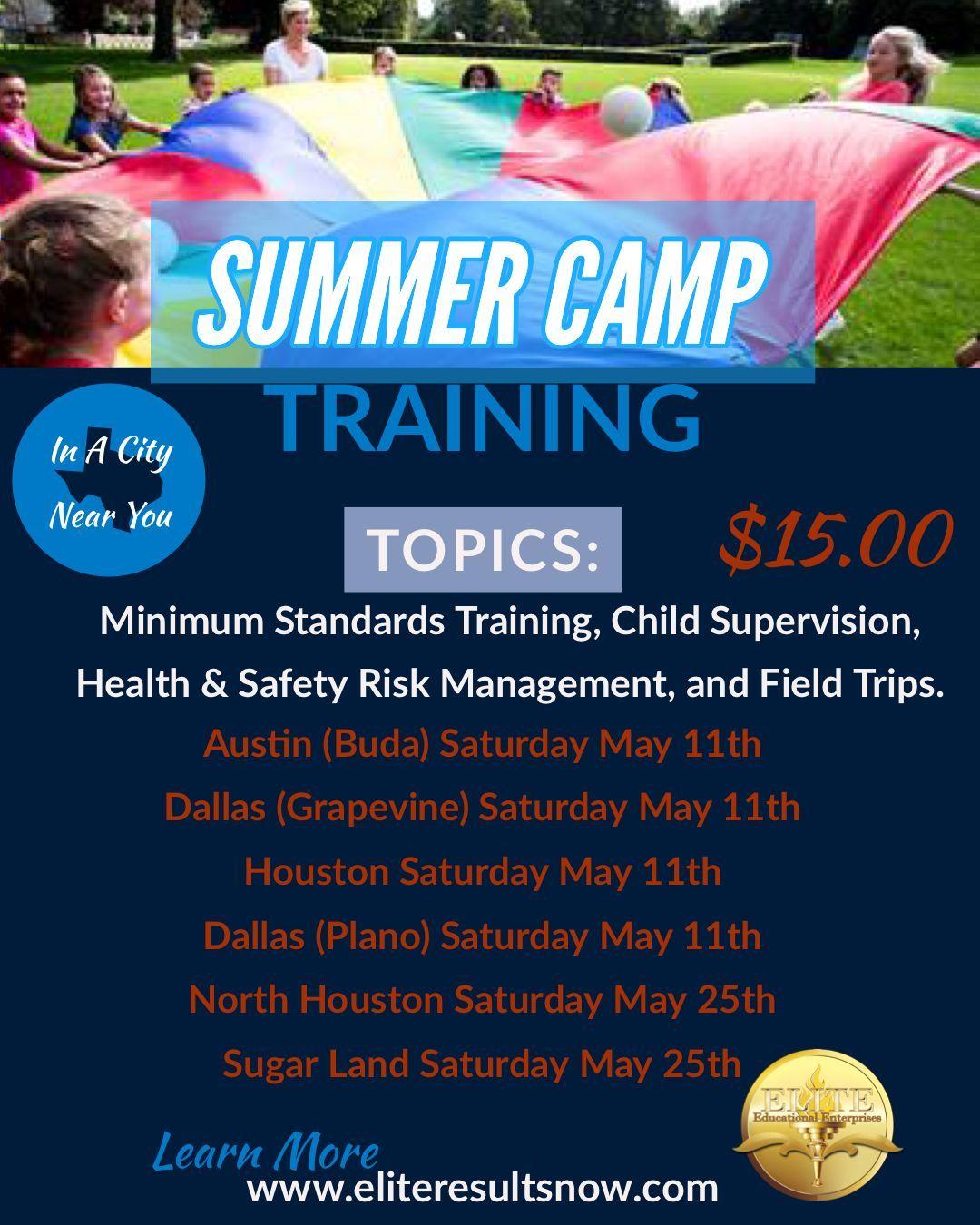 Summer Camp Training 2019
