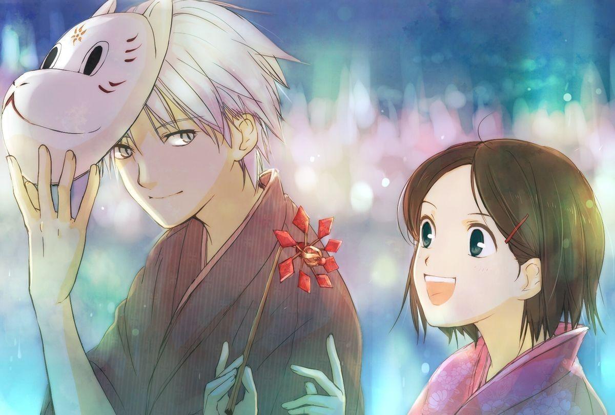 Épinglé par Manga_fanfr sur Hotarubi no mori e. Anime
