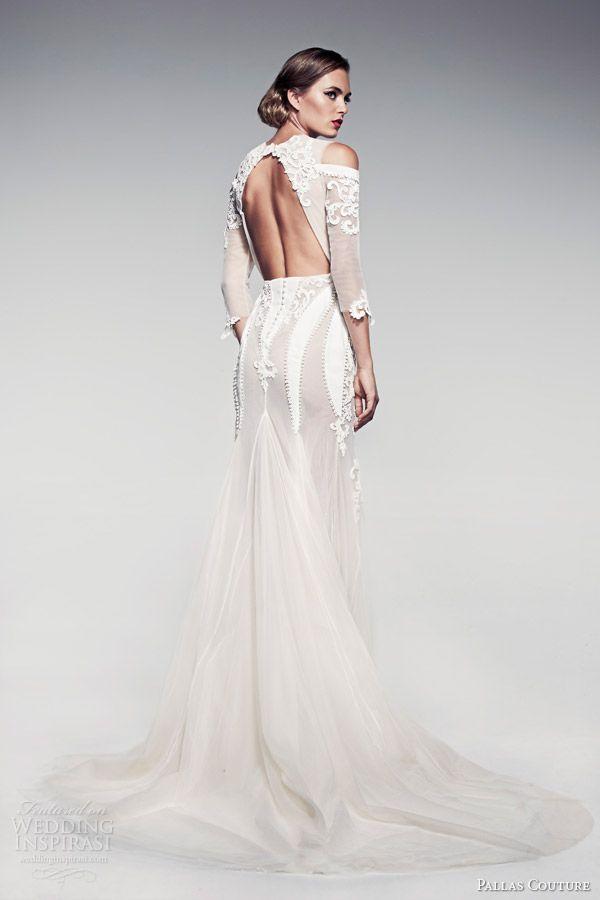 Pallas Couture Spring Summer 2014 Fleur Blanche Bridal