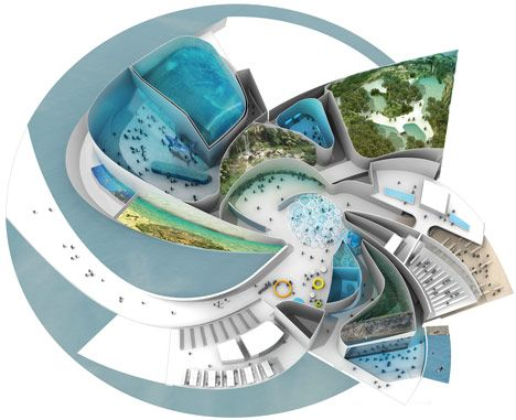 The blue planet by 3xn architecture pinterest for Innenraum designer programm