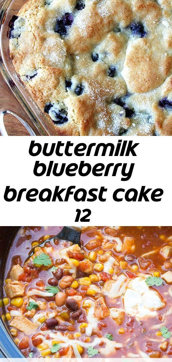 Buttermilk blueberry breakfast cake 12 #buttermilkblueberrybreakfastcake Buttermilk Blueberry Breakfast Cake — this simple cake is a family favorite. I look forward to making it every spring/summer when the blueberries begin arriving at the market, but it works well with frozen berries, too. #blueberries #breakfast #cake #buttermilk #brunch #spring #summer EASIEST Slow Cooker Chicken Taco Soup! This dump and go crock pot recipe requires no chopping. A healthy family dinner that's quick to prep