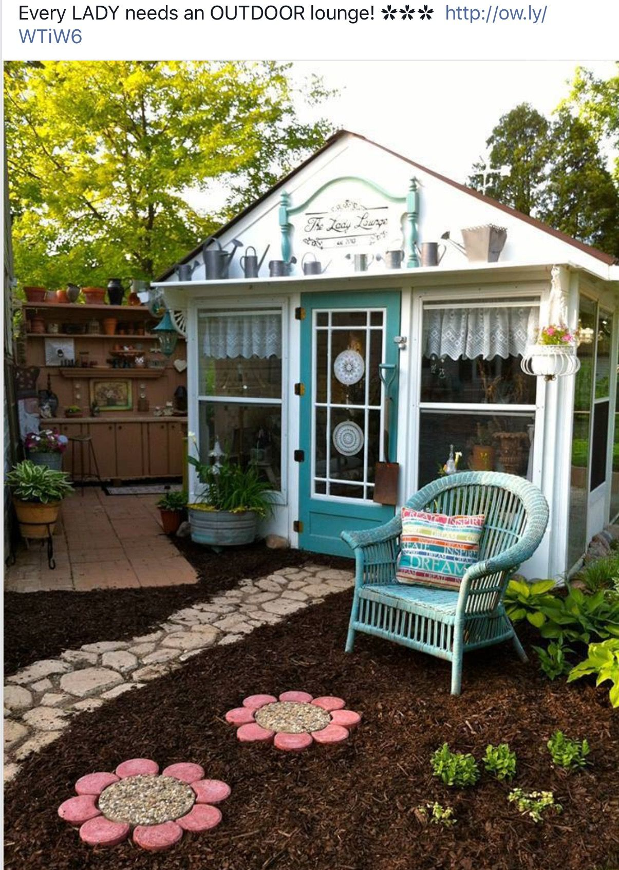 Pin By Jean Olson On Favorite Places And Spaces Backyard Sheds Shed She Sheds Backyard garden kit jamaica