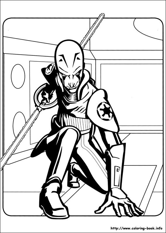 Star Wars Rebels Coloring Picture