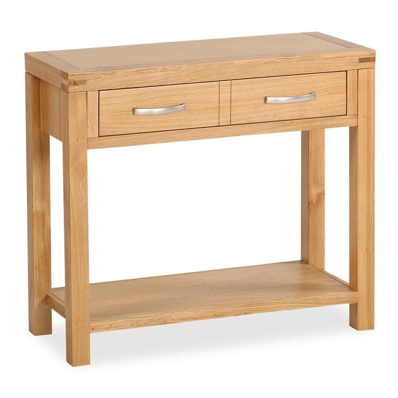 Abbey Light Oak Console Table Hallway Pinterest Light oak