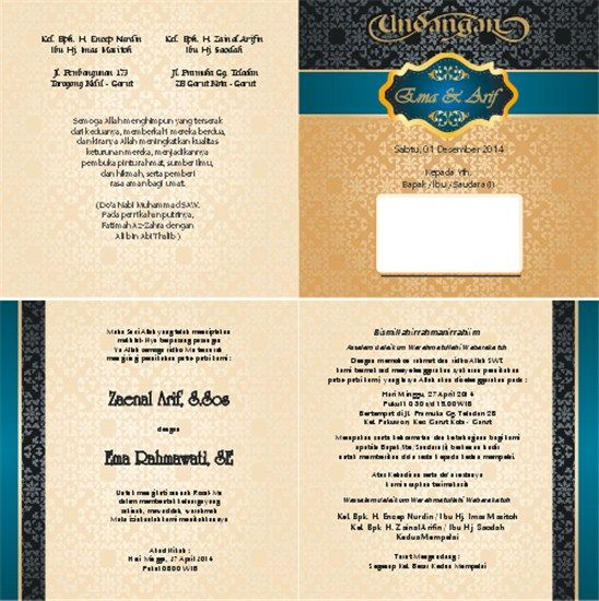 3000 Desain Undangan Perkawinan Perkawinan Pernikahan Khitanan Ultah Desain Grafis Terlengkap Dan T Undangan Perkawinan Desain Undangan Perkawinan Undangan