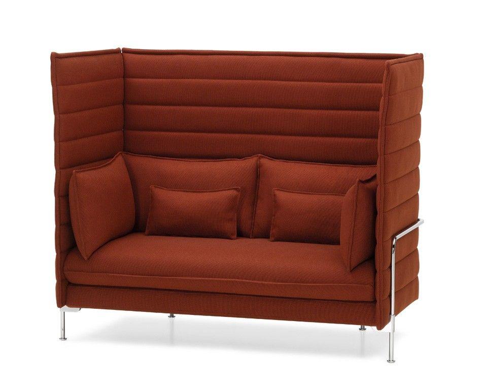 Vitra Alcove Highback Love Seat Sofa Sofa Vitra Sofa Sofa