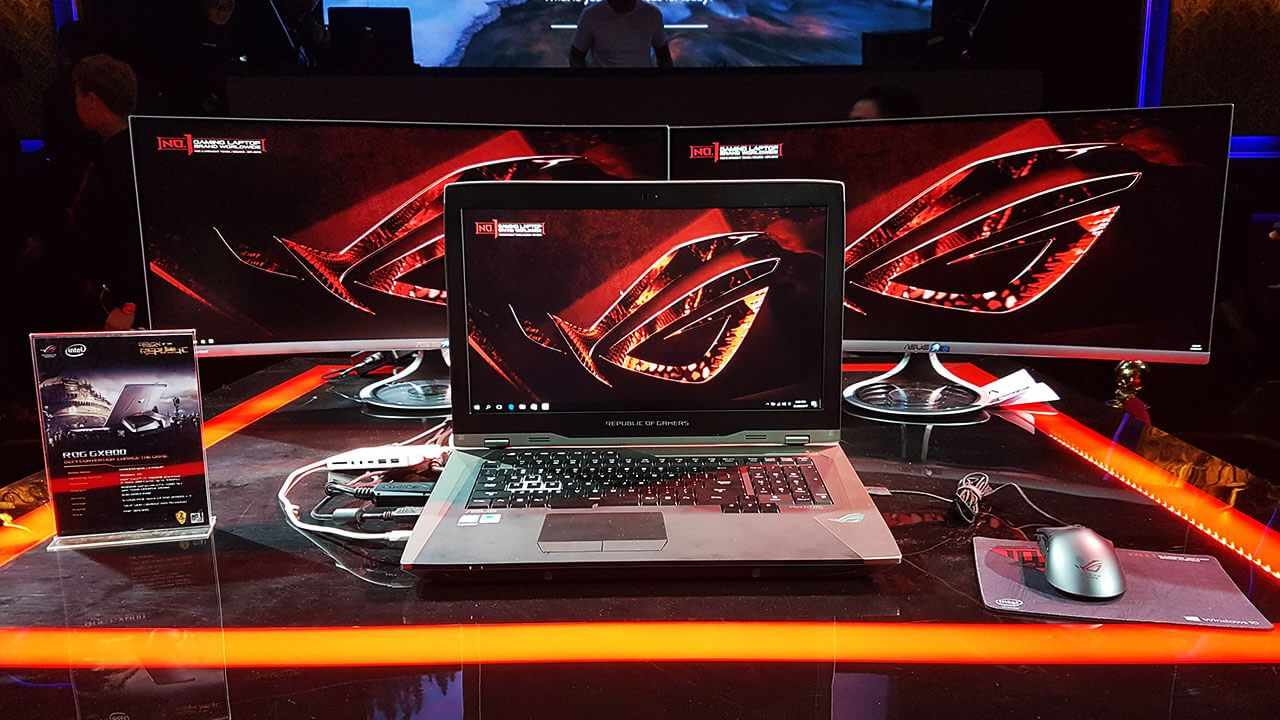 Gaming Beast D I Want This Laptop P Asus Rog Gx800 Liquid Cooled Gaming Laptop Launchedpriced At 13000