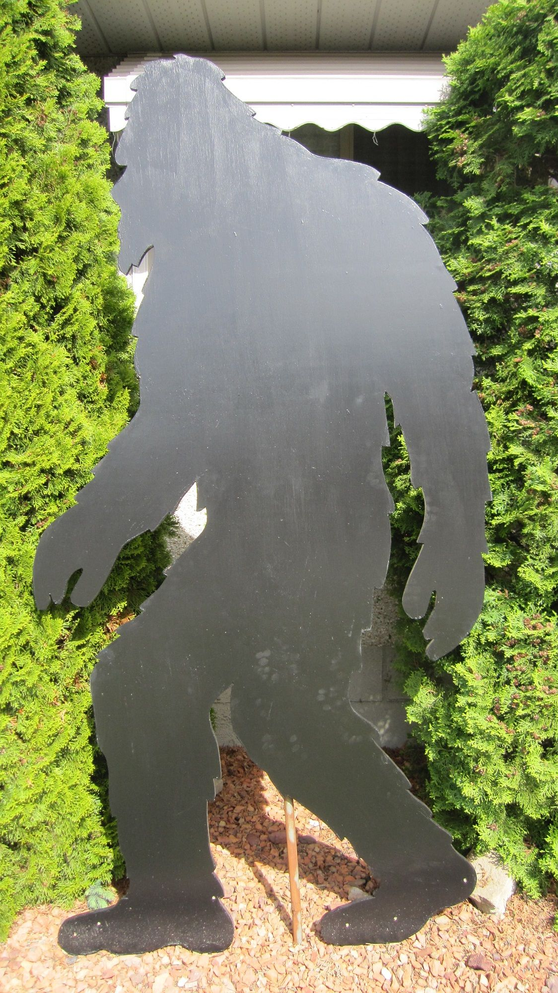1 103 Sasquatch Bigfoot Yard Shadow Pattern Bigfoot