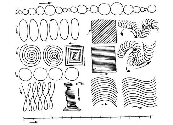 Tecnicas Para Aprender A Dibujar El Trazo Y Ejercicios Para Calentar Pintando Org Aprender A Tatuar Ejercicios De Dibujo Aprender A Dibujar