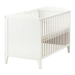 HENSVIK Babybett, Weiß   60x120 Cm   IKEA