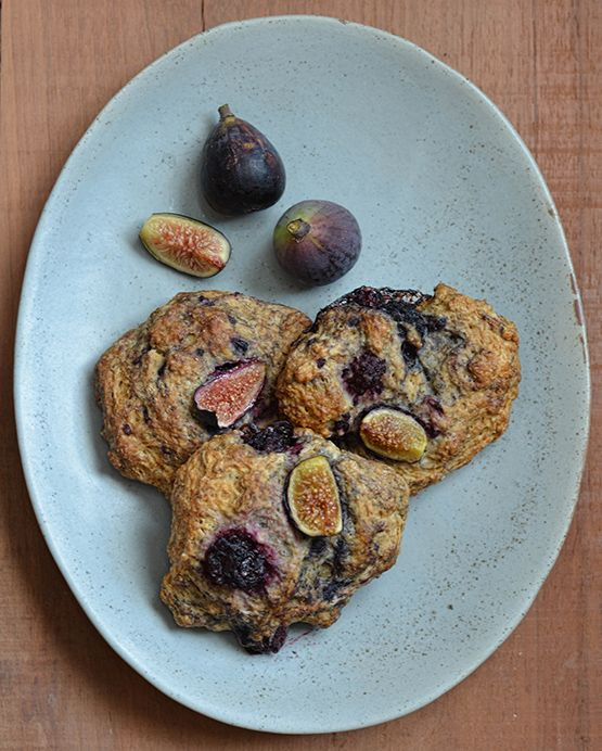 Blackberry Fig Hand Scones - Global Dish