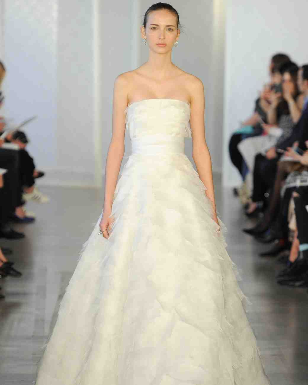 The Knot Wedding Gowns: Oscar De La Renta Spring 2017 Wedding Dress Collection
