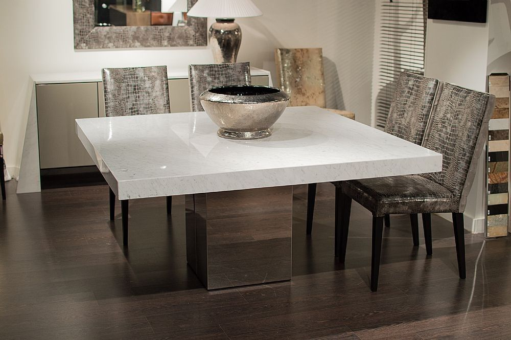 Stone International 3266 Sq Dining Table Square Cortina