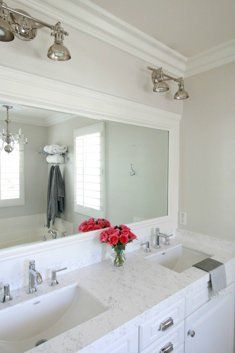 Superieur Victoria Quartz Countertop. Marble Vs. Quartz   A Thoughtful Place More  White Bathrooms,