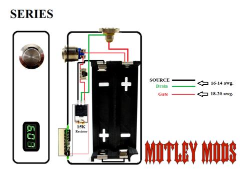BOX MOD WIRING DIAGRAMS Motley Mods llc Sigara Sigara