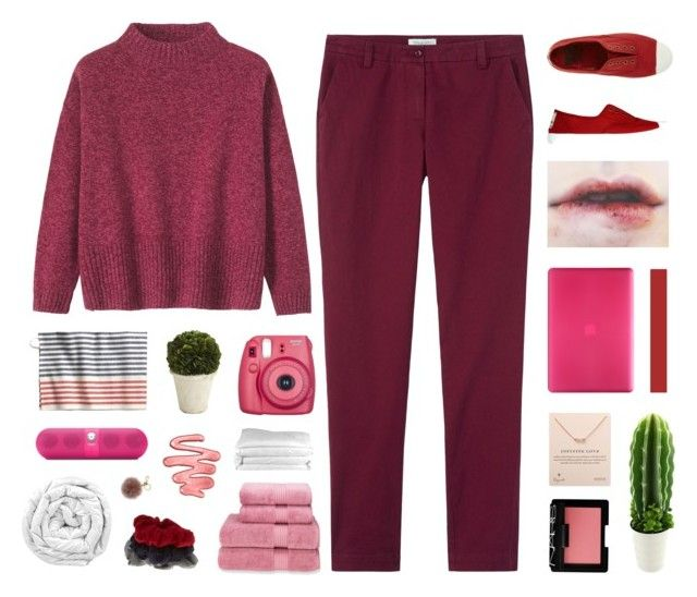 """boom"" by soundlxss ❤ liked on Polyvore featuring Toast, Pier 1 Imports, Christy, Incase, Beats by Dr. Dre, Accessorize, Dogeared, NARS Cosmetics, Frette and Brinkhaus"