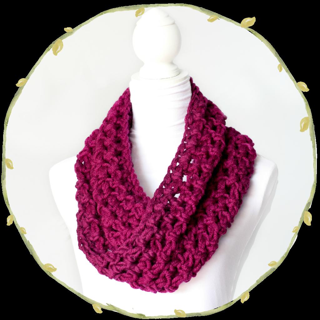 Chunky Infinity Scarf - Free Crochet Pattern | Pinterest ...