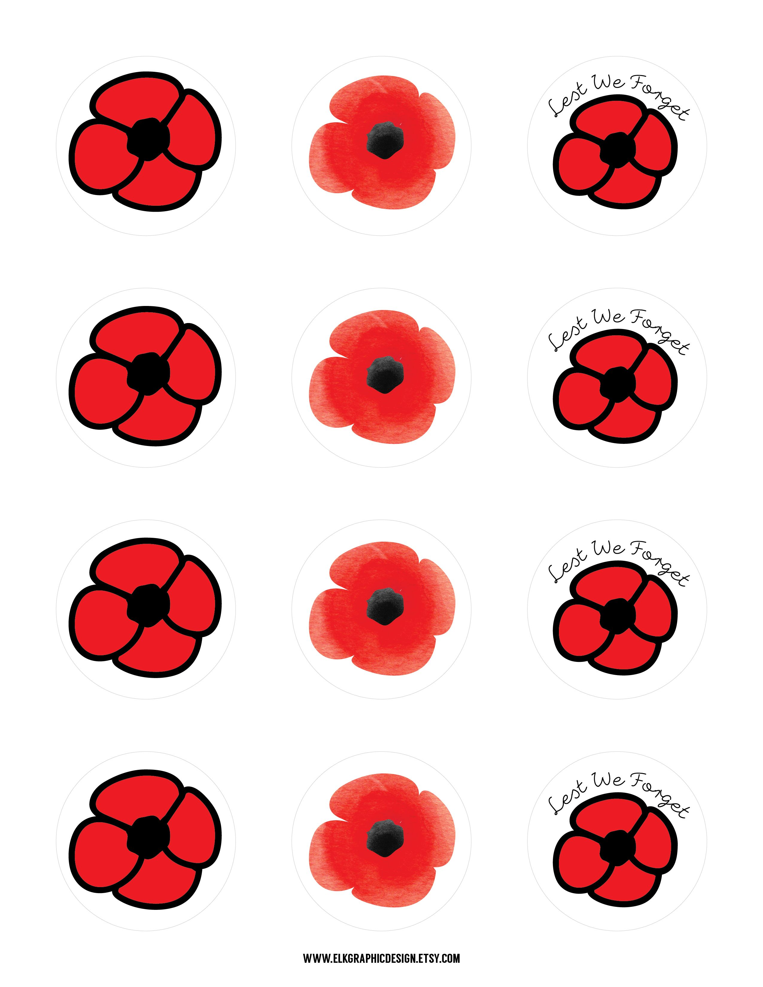 remembrance day freebies