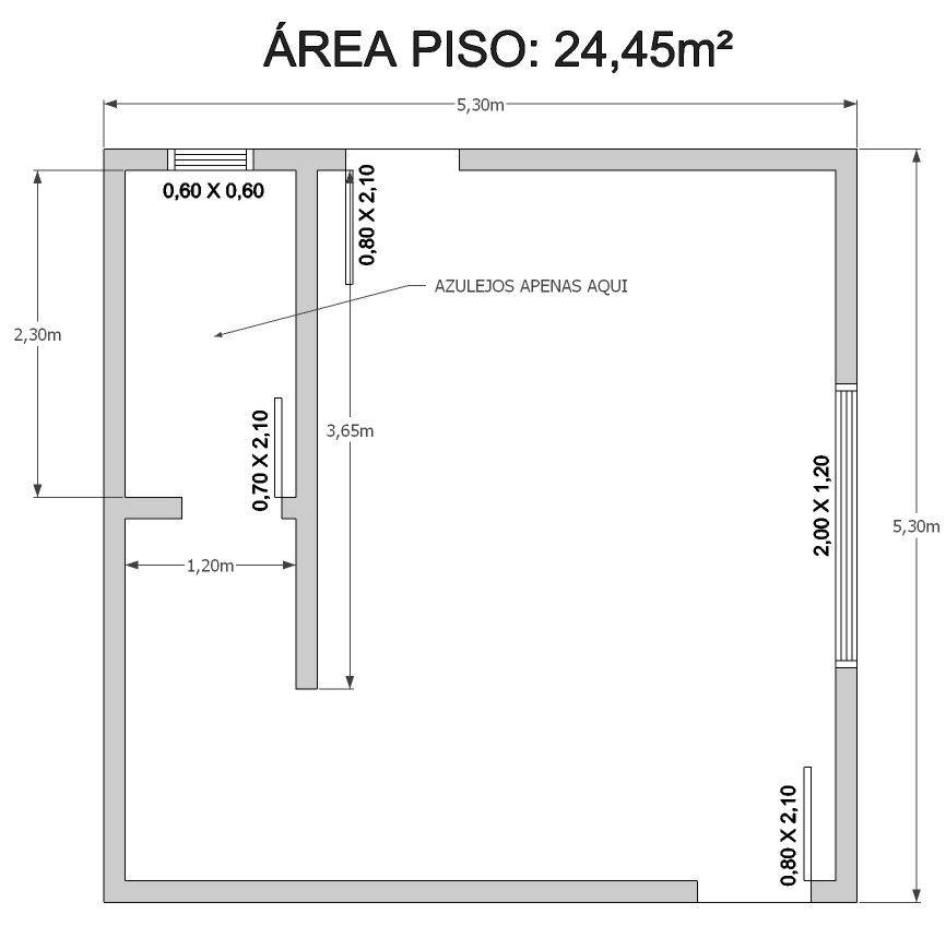 Aprenda como calcular o consumo de pisos e azulejos de uma - Como sacar los metros cuadrados de una habitacion ...