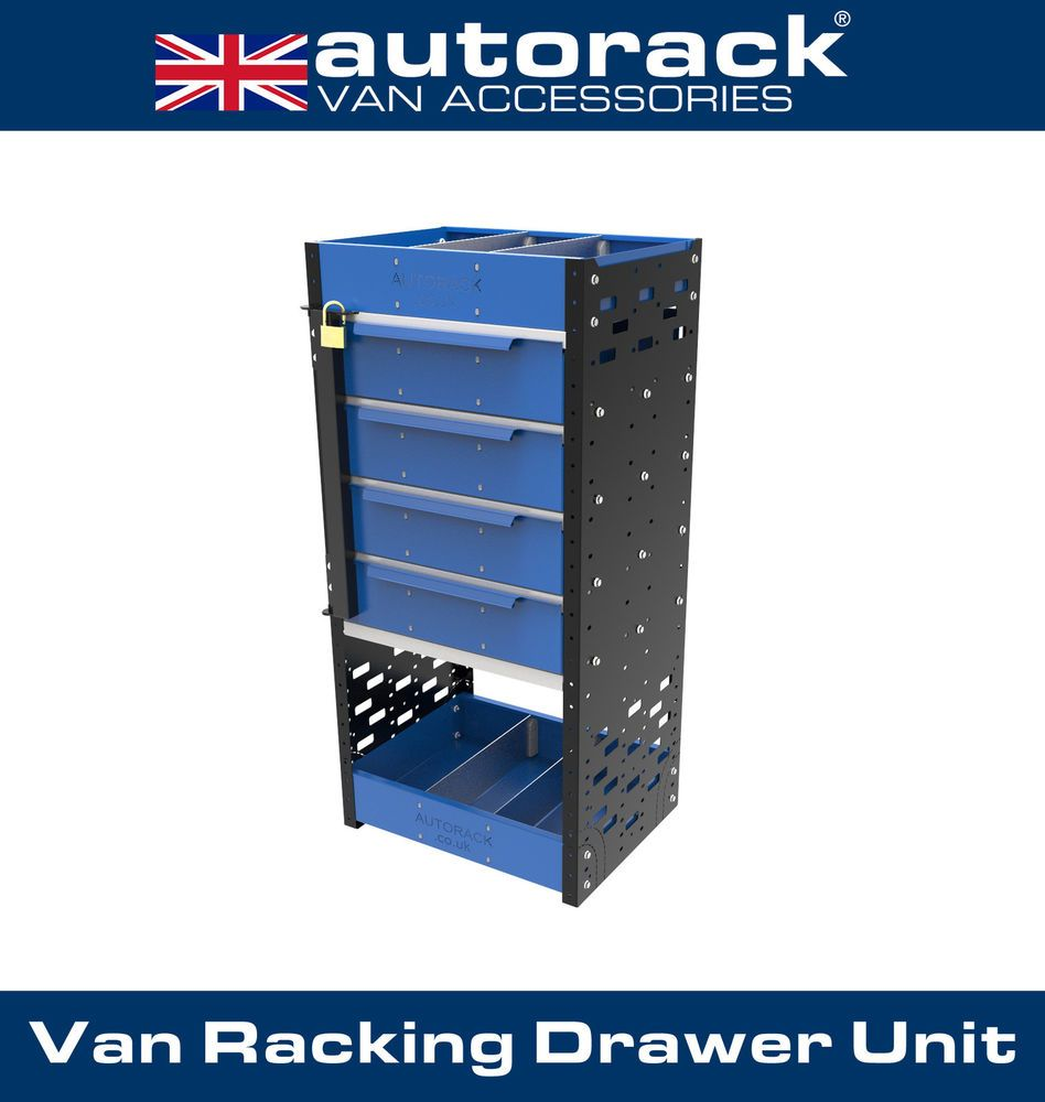 Autorack Van Racking Drawer Unit Van Sheving Drawers Tool  # Muebles Sortimo