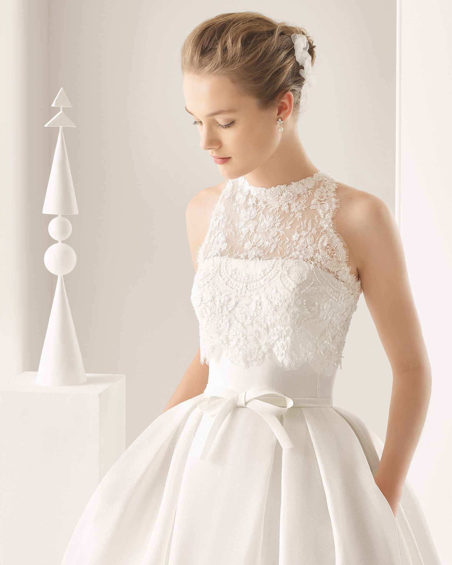 Nectar - 2017 Bridal Collection. Rosa Clará. | Pinterest | Organza ...