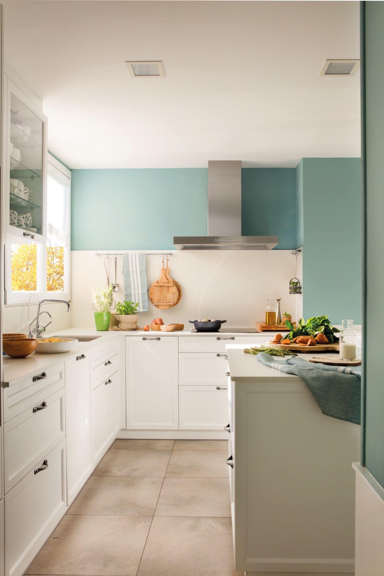 La Cocina Paredes De Cocina Colores Paredes Cocina Cocinas Blancas
