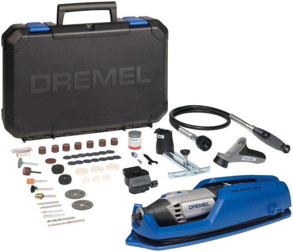 dremel multifunktionswerkzeug »dremel® 4000 (4000-4/65 ez)« | dremel