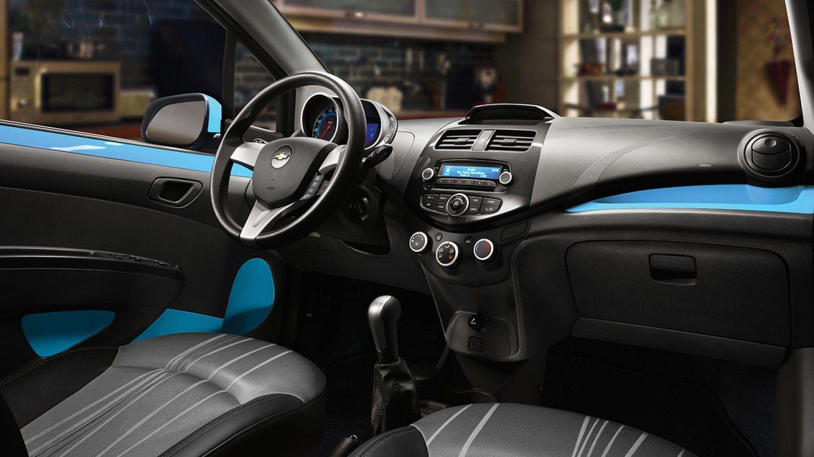 Chevrolet Spark 2015 Interior Con Iluminacion Ambiental