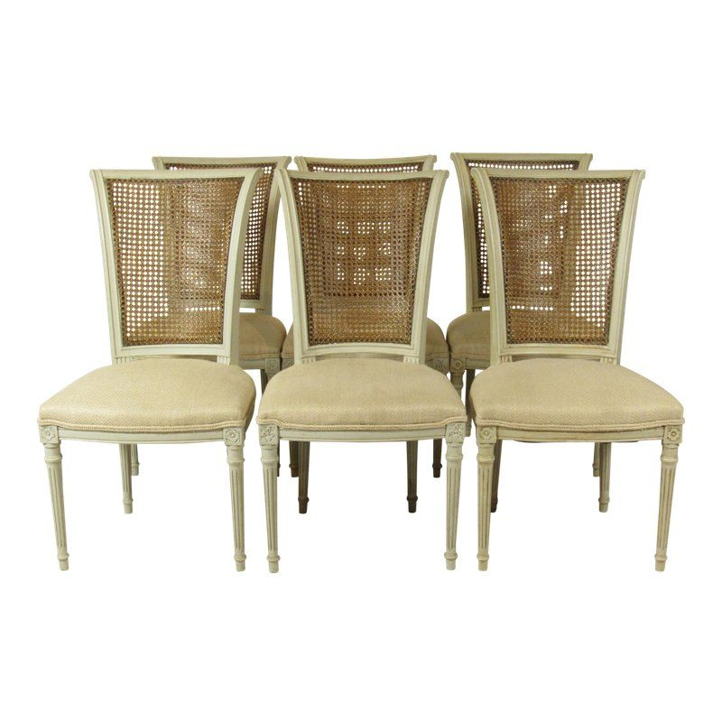 Enjoyable 1960S Vintage Directoire Style Dining Chairs Set Of 6 Pabps2019 Chair Design Images Pabps2019Com
