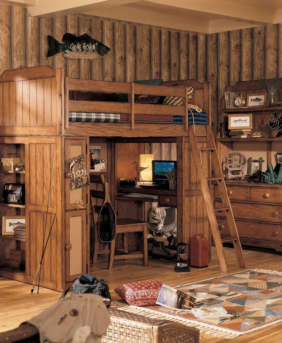 Rustic Mansion Bedroom Set Rustic Bedroom Set Rustic: Kids Cabin Theme Bedrooms & Rustic Decor