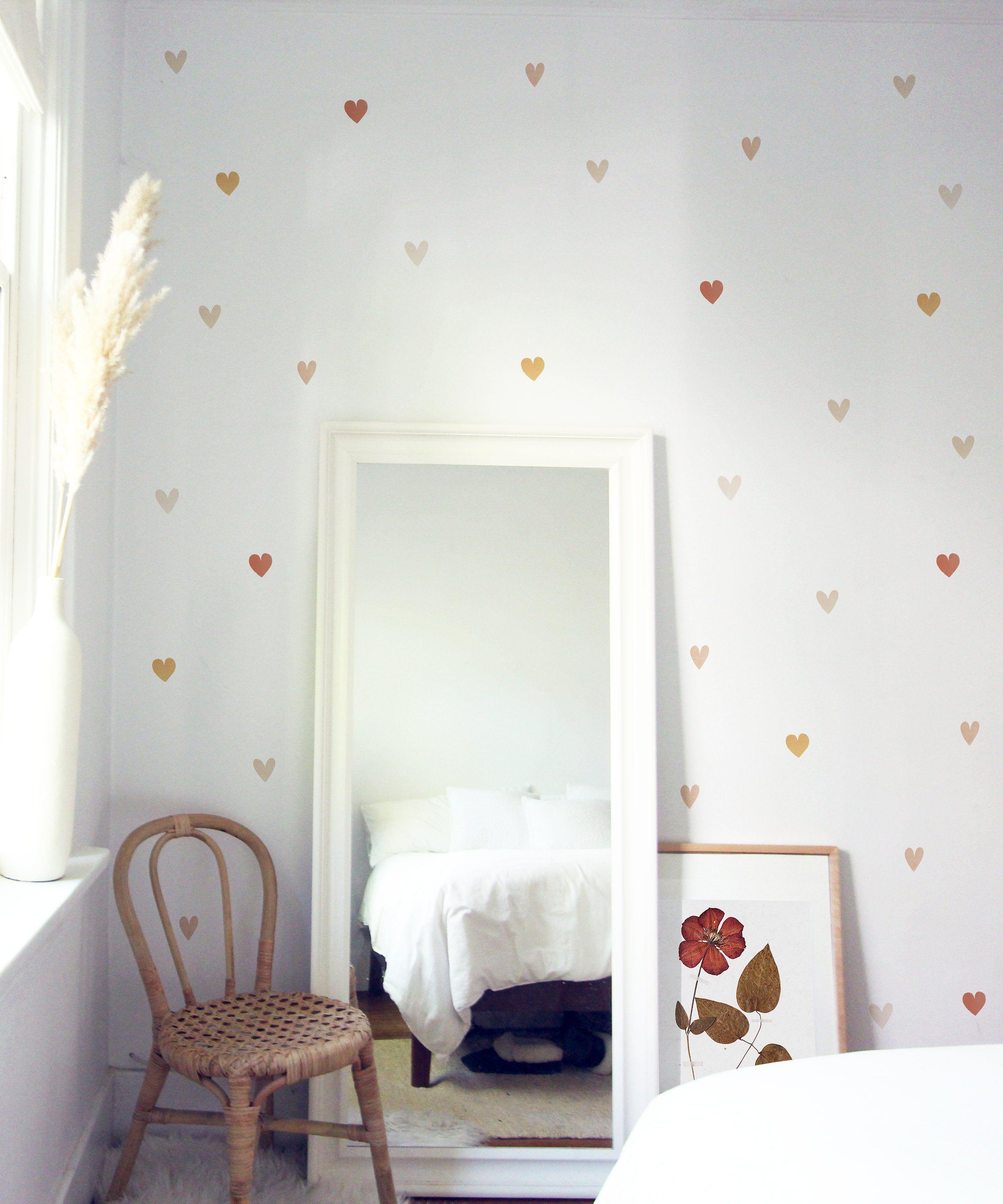 Wallpaper Kids Hearts and Darts Wallpaper Heart Wallpaper Child Wallpaper Childrens Wallpaper Nursery Wallpaper Kids Wallpaper
