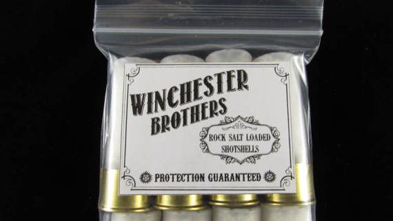 Supernatural 12 Gauge Rock Salt Loaded Shot Shells