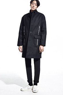 Redhomme Embroidered Single Breasted CoatGet ready for the cold this season, wearing this coat. Features high collars, long sleeves, single breasted style, flap pockets, and side embroidery. Team this with a turtle neck sweater and coated jeans.
