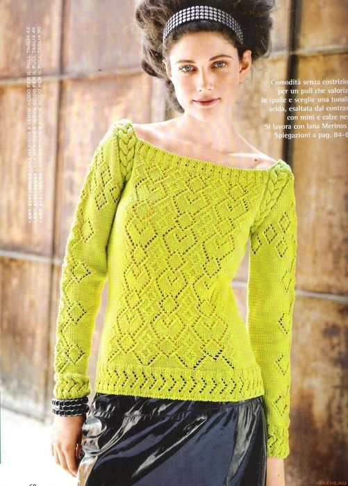 maglia gialla | knitting | Pinterest | Stricken