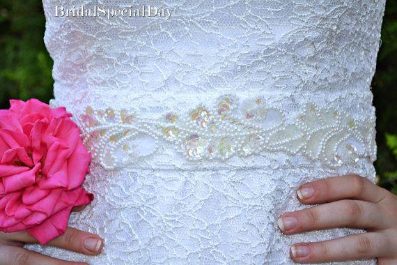 Ivory Bridal Accessories Bridal Sash
